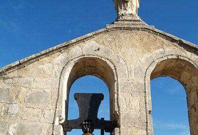Le haut du clocher mur – Eglise paroissiale Saint Etienne