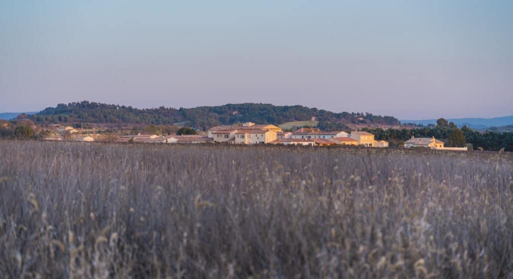 Village de Sannes en hiver