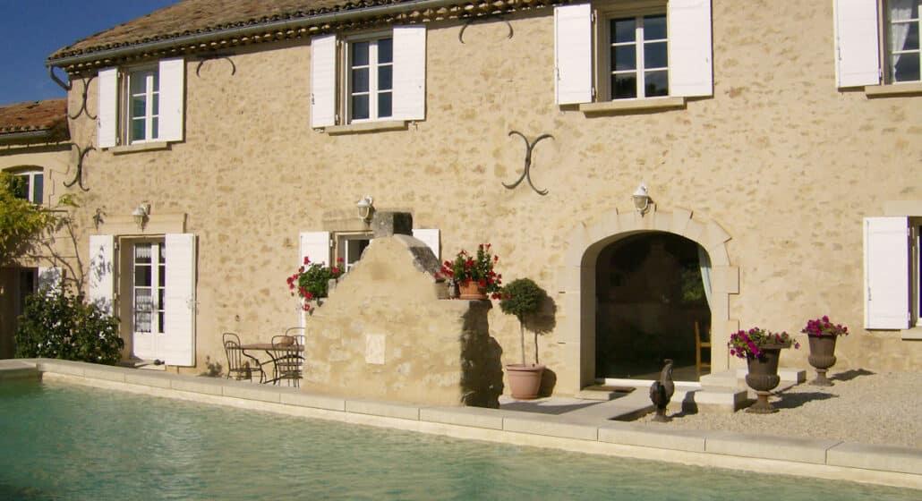Vignoble en Luberon