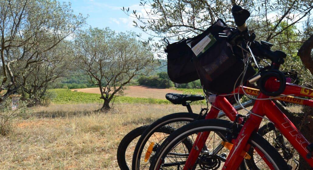 Pays d'Aigues à vélo