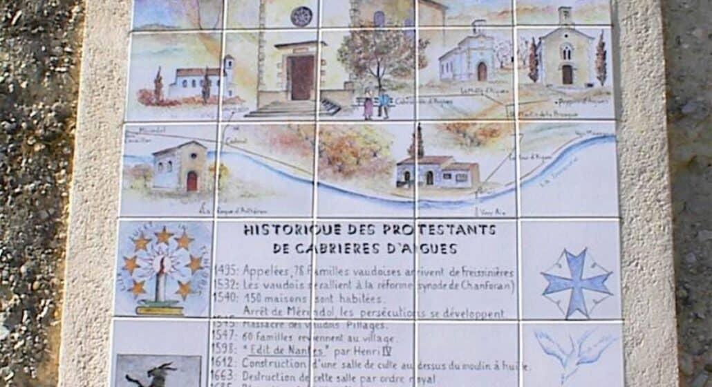 Le temple de Cabrières d'Aigues