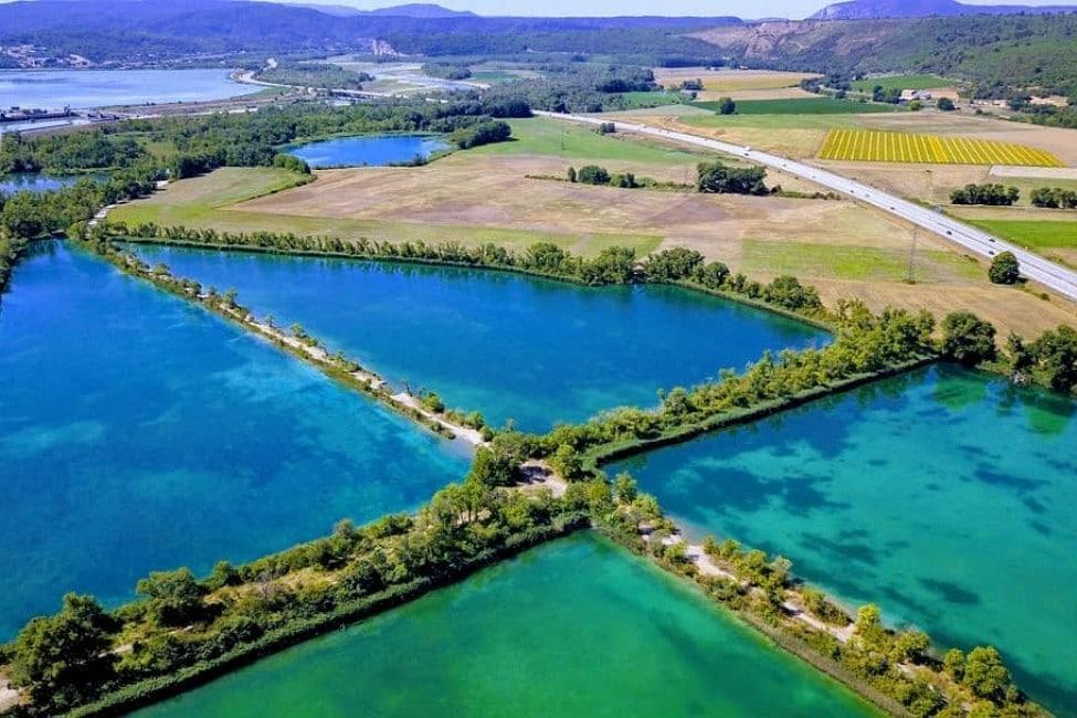 Réserve naturelle Beaumont de Pertuis Les 7 lacs- Natura 2000