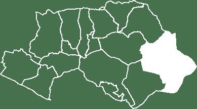 localisation du village de Beaumont-de-Pertuis sur la carte