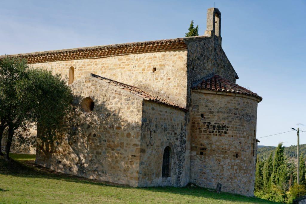 Chapelle notre Dame de Beauvoir - Beaumont-de-pertuis (parc naturel régional du Luberon)