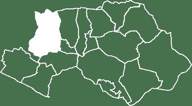 localisation du village de Cucuron sur la carte