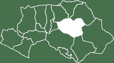 localisation du village de Grambois sur la carte