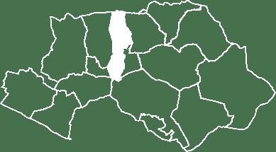 localisation du village de la Motte d'Aigues sur la carte