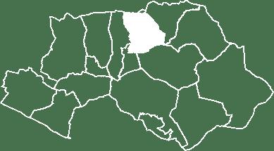 localisation du village de Peypin d'Aigues sur la carte