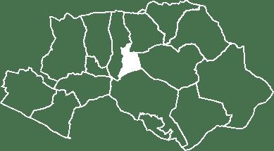 localisation du village de Saint-Martin-de-la-Brasque sur la carte