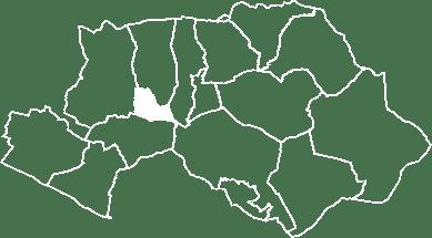 localisation du village de Sannes sur la carte