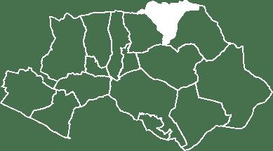 localisation du village de Vitrolles-en-Luberon sur la carte