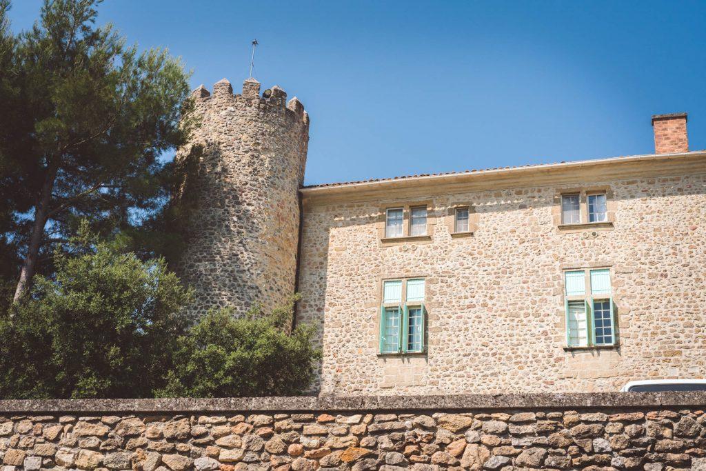 château de Mirabeau- propriété privée