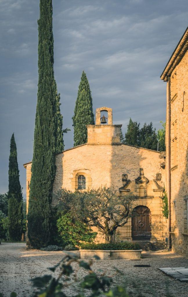 La chapelle du chateau de sannes