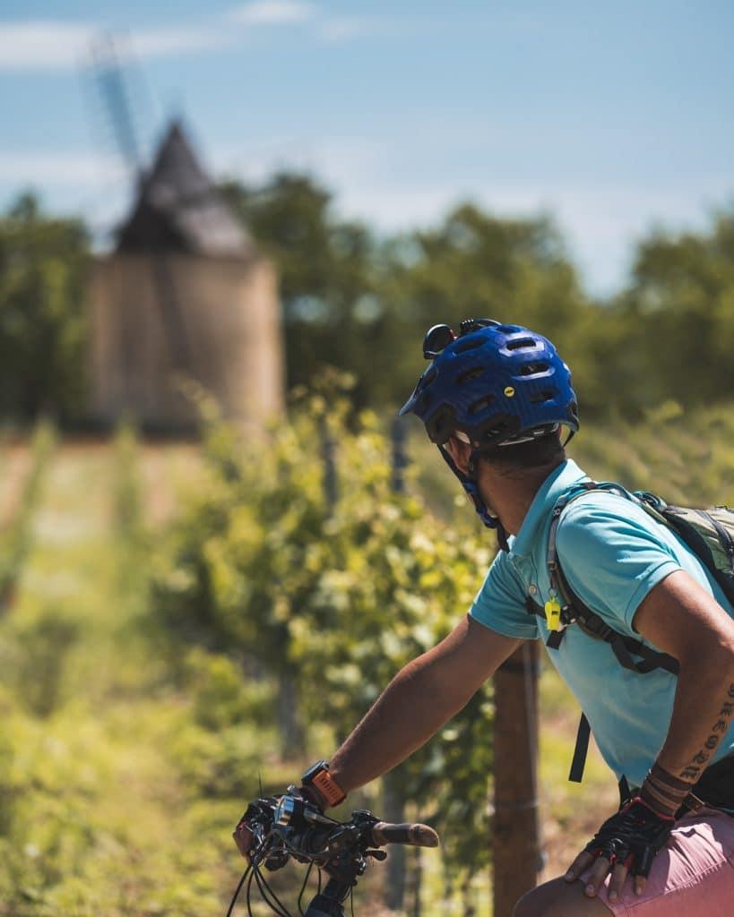Vélo à Sannes