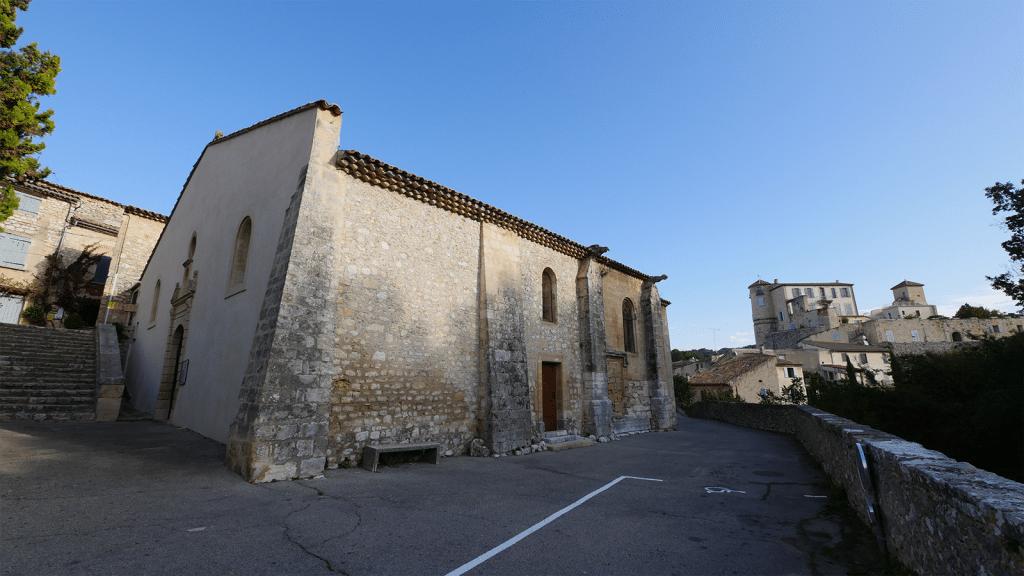 L'Église Saint Pierre aux Liens   La Bastides des Jourdans