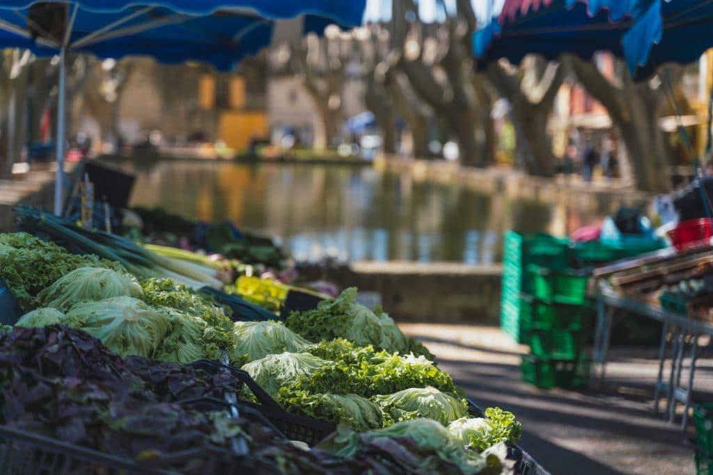 Jours de marché en Sud Luberon
