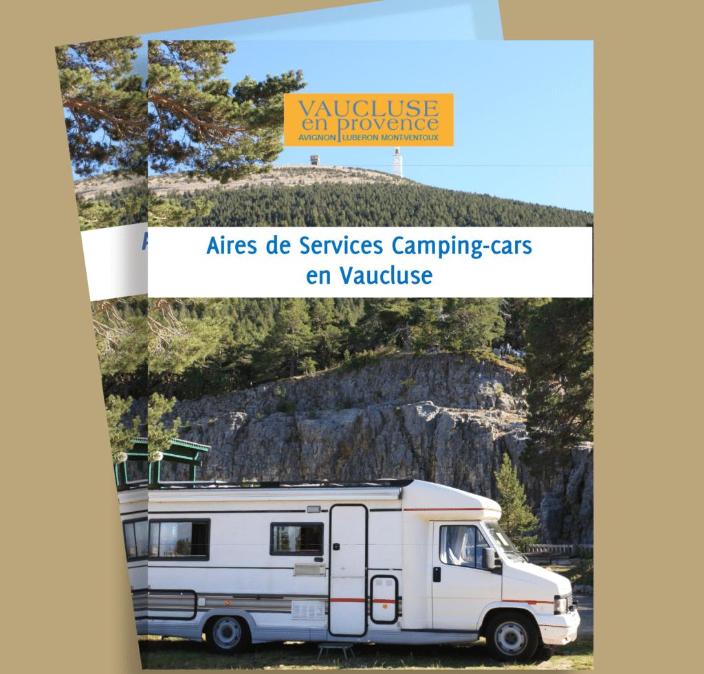 Aires de camping-cars du Vaucluse à télécharger