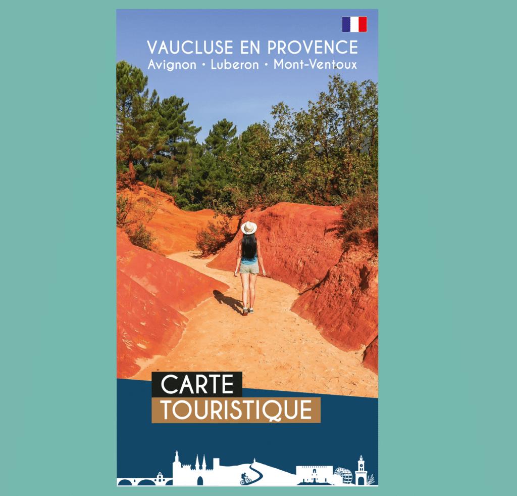 carte touristique du Vaucluse