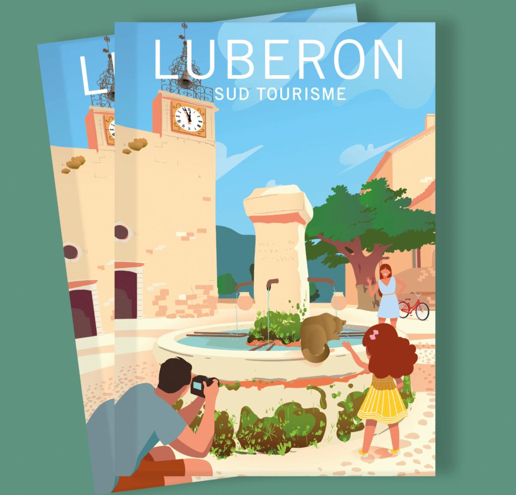 Brochure touristique Luberon Sud Tourisme 2021 - français