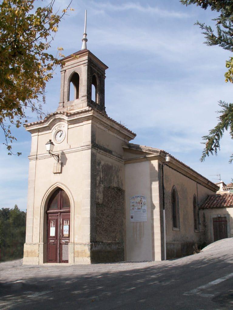 Le temple protestant de La Motte d'Aigues