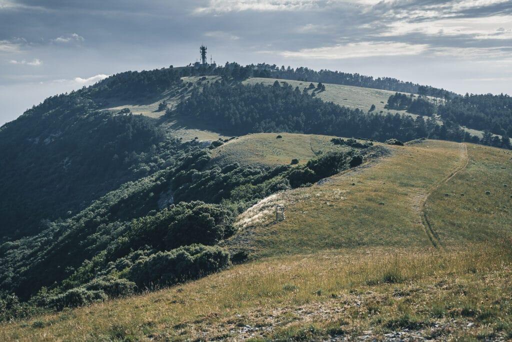 Le Mourre Nègre, sommet du parc naturel regional du Luberon