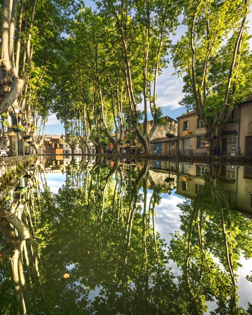 Bassin de l'étang de Cucuron