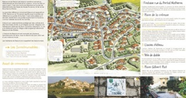 Plan de Beaumont-de-Pertuis