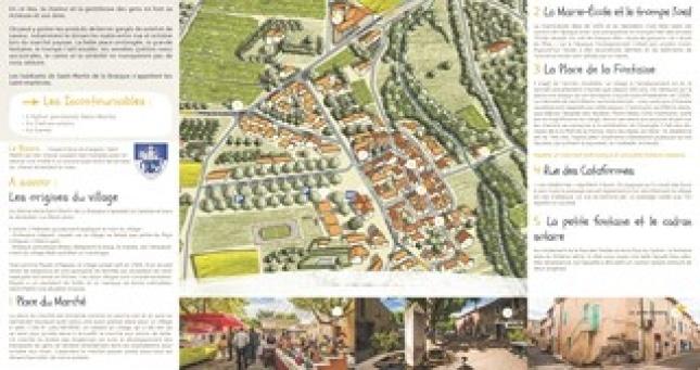 Carte de Saint-Martin-de-la-Brasque
