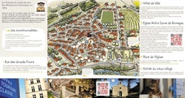 Carte de la Tour d'Aigues