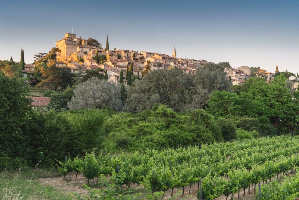 Village d'Ansouis et son château