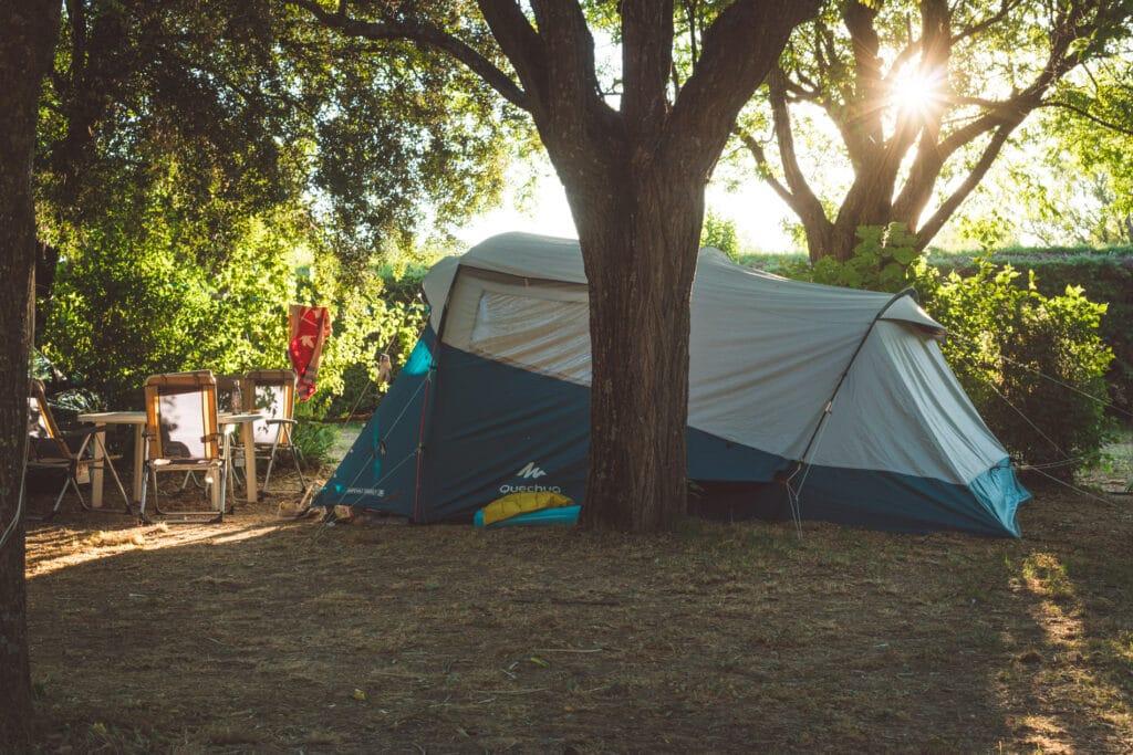 tente camping luberon